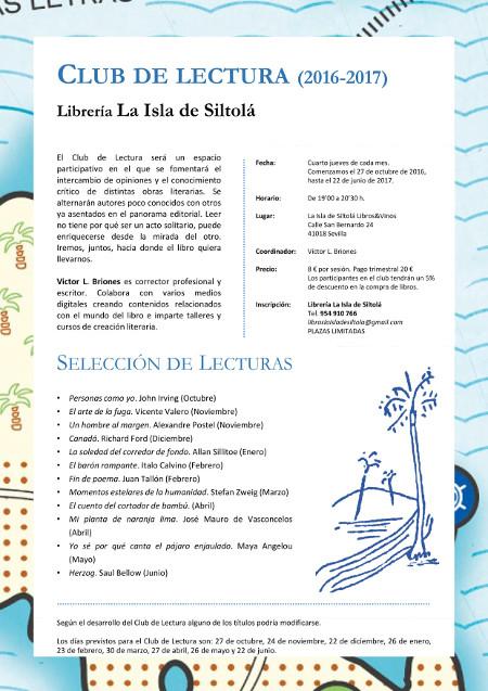 Club de Lectura 2016-2017