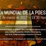 Lectura de poemas Día Mundial de la Poesía