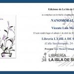 """Presentación del libro """"Nanomoralia"""", de Vicente Luis Mora"""