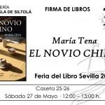 Feria del libro de Sevilla. Firma de libros 27 de mayo