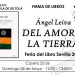 Feria del libro de Sevilla. Firma de libros 28 de mayo