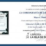"""Presentación del libro """"La coreografía de los glaciares"""", de Mayo C. Pinto"""