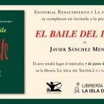 """Presentación del libro """"El baile del diablo"""", de Javier Sánchez Menéndez"""