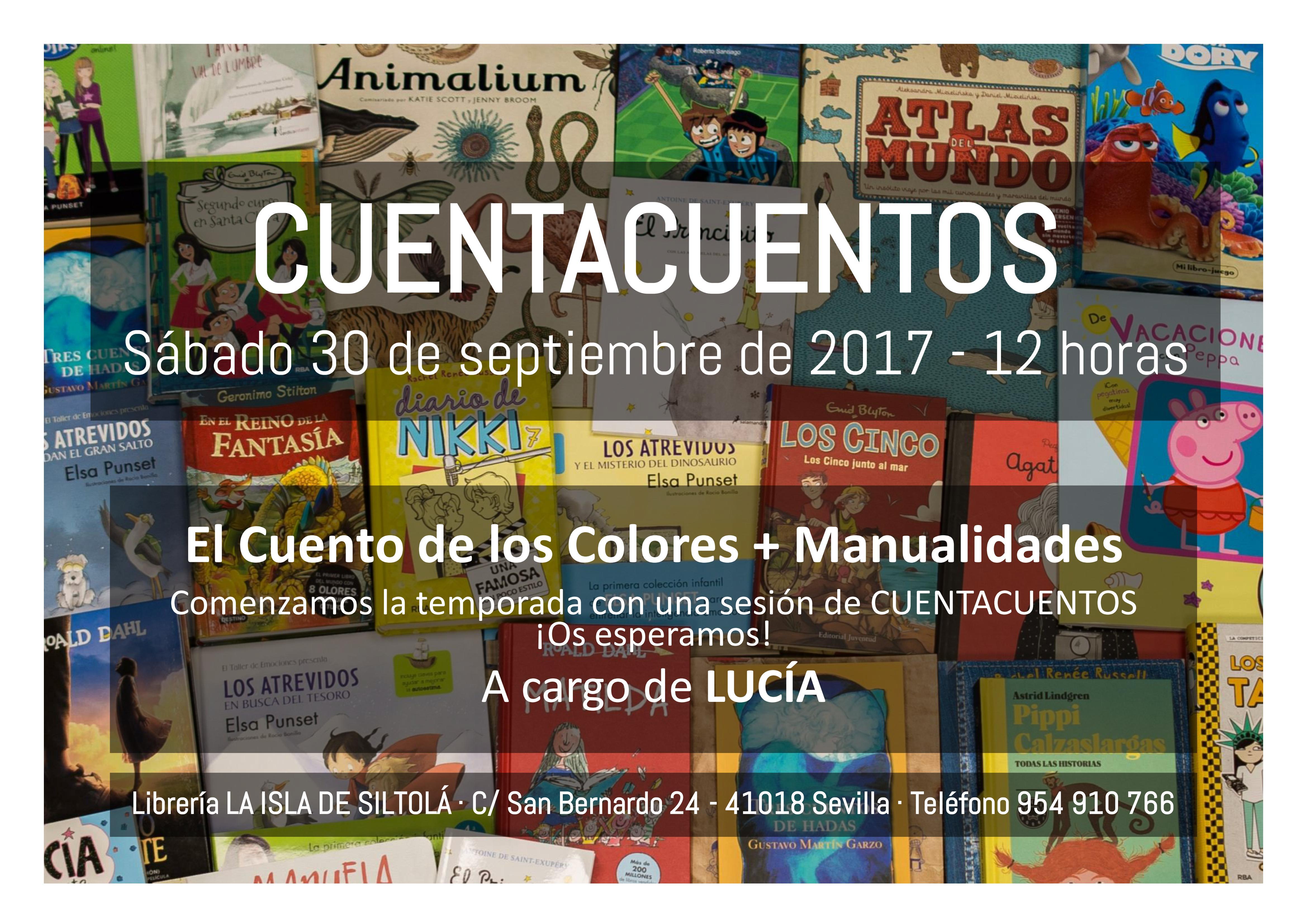 """Cuentacuentos """"El cuento de los colores + Manualidades"""""""