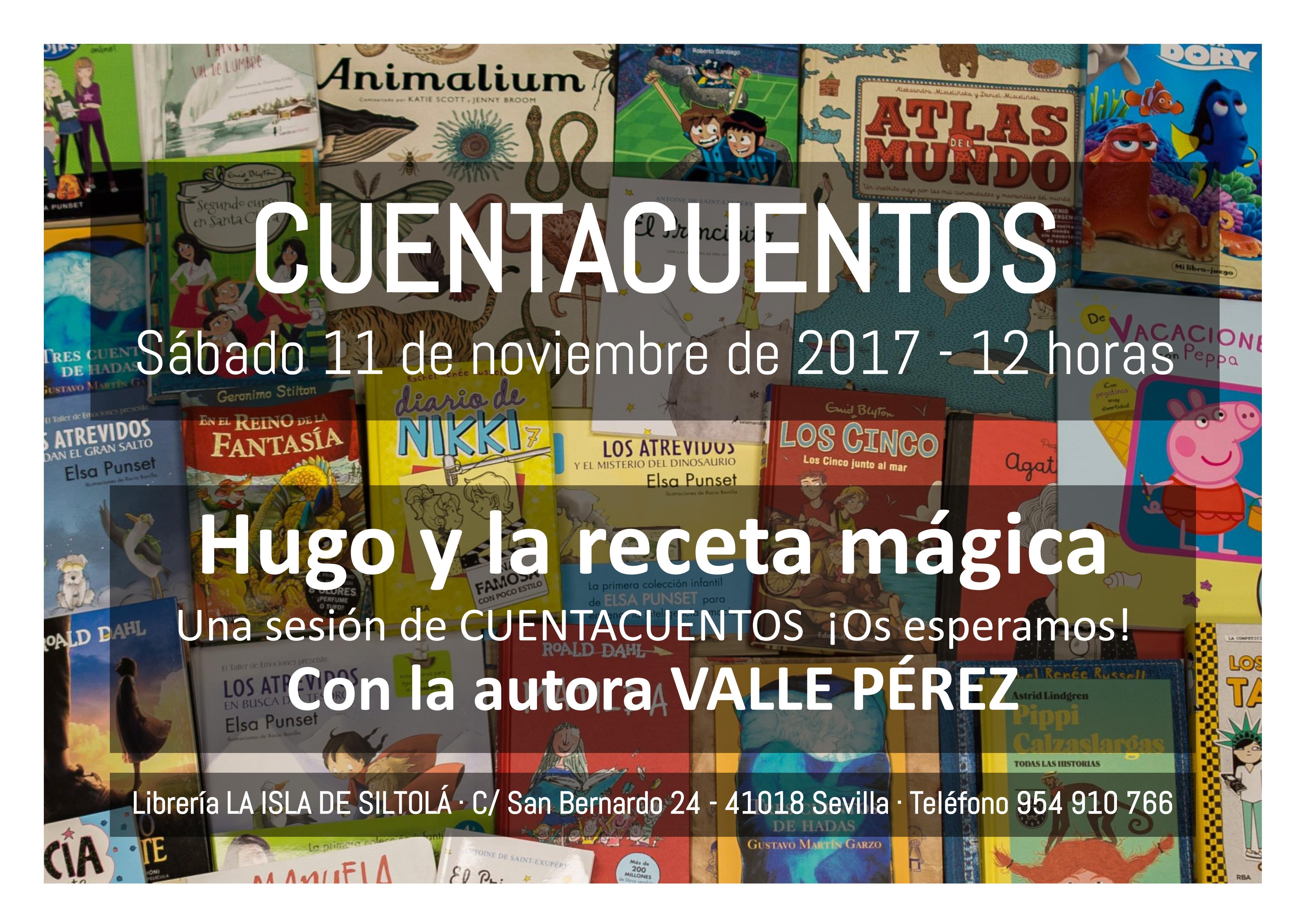 """Cuentacuentos """"Hugo y la receta mágica"""""""
