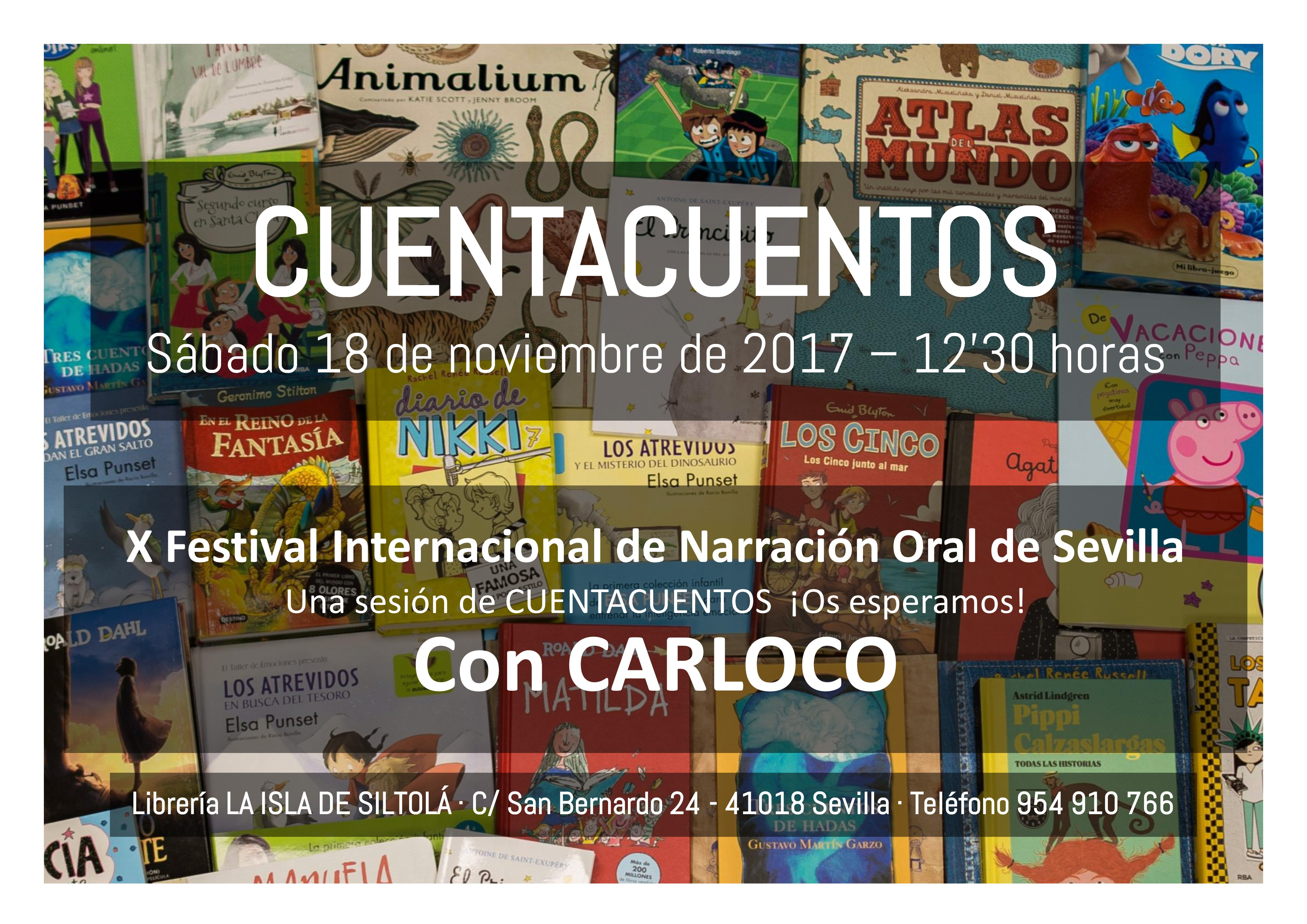 X Festival Internacional de Narración Oral de Sevilla