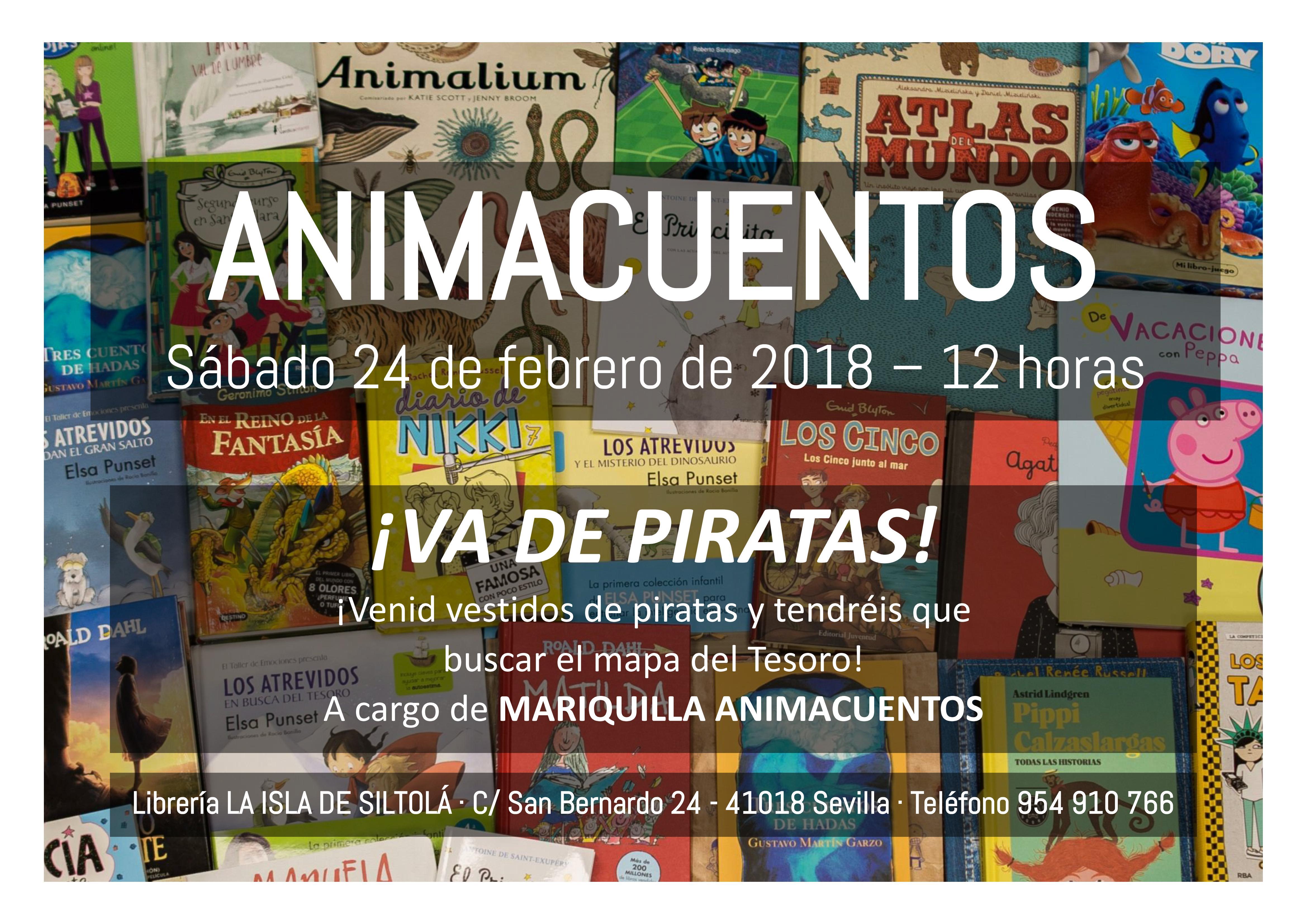 """Animacuentos """"Va de piratas"""""""